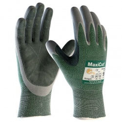 MaxiCut Oil Resistant Palm Coated 34-450LP Gloves