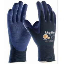 MaxiFlex Elite Palm-Coated Knitwrist Handling 34-244 Gloves