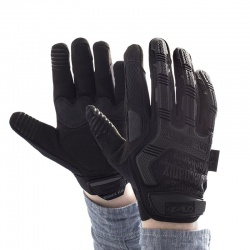 Mechanix Wear M-Pact Black Covert Impact-Resistant Work Gloves