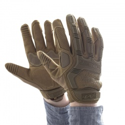 Mechanix Wear M-Pact Coyote Impact-Resistant Work Gloves