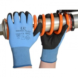 Nitrilon Flex PVC Palm Coated Gloves NCN-Flex (Case of 120 Pairs)