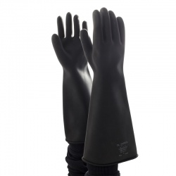 Polyco Chemprotec Unlined Heavyweight Chemical Resistant Gloves