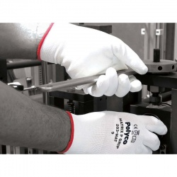 Polyco Matrix P Grip White Safety Gloves 200-MAT