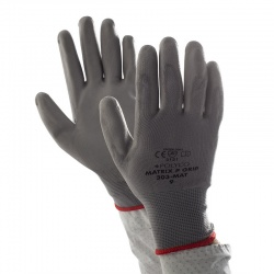 Polyco Matrix P Grip Grey Safety Gloves 300-MAT