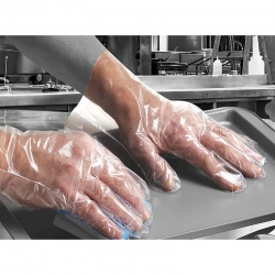 Polyco Bodyguards Digit Polythene Disposable Gloves PE100