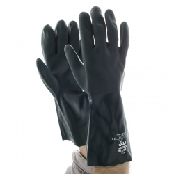 Polyco Polysol 35cm Double Dipped PVC Gloves P73