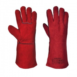 Portwest Welder Leather Gauntlets A500
