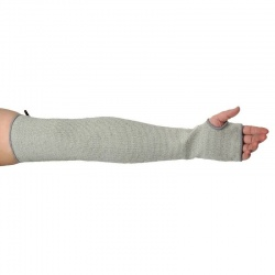 Portwest 56cm Cut-Resistant HPPE Grey Sleeve A691GR