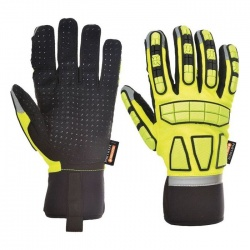 Portwest Anti-Impact Lined Gloves A725