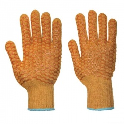 Portwest Criss-Cross PVC Handling Gloves A130