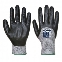 Portwest Cut-Resistant Nitrile 3/4 Coated Gloves A621