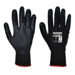 Portwest Dexti-Grip Black Nitrile Foam Gloves A320BK