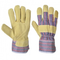 Portwest Mansuetus Leather Rigger Gloves A240