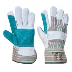 Portwest Reinforced Double Palm Rigger Gloves A230