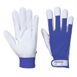 Portwest Tergsus Leather Blue Gloves A250BL
