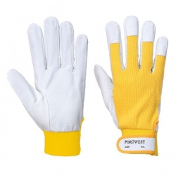 Portwest Tergsus Leather Yellow Gloves A250YE
