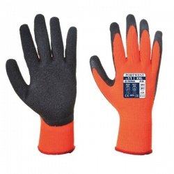 Portwest Thermal Grip Orange and Black Gloves A140OR