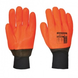 Portwest PVC Weatherproof Thermal Gloves A450
