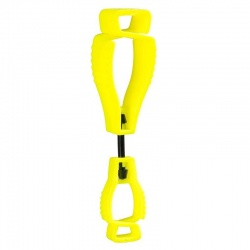 Portwest Yellow Metal-Free Glove Clip A002YE (Pack of 40)