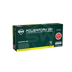 PowerForm S8 Powder-Free Nitrile Gloves (Box of 50)
