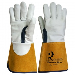 Predator Signature Goat Leather Tig Welding Gauntlets PRED6-G