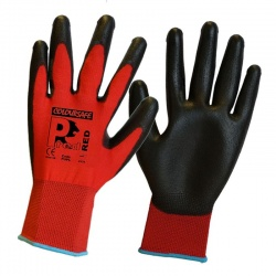PredRed Polyurethane Coated General Handling Gloves PUPL