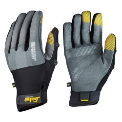 Snickers Precision Protect Grip Grey Gloves 9574