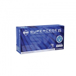 Supercede X5 N05831 Disposable Nitrile Exam Gloves (Box of 100 Gloves)