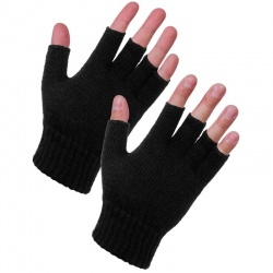 Supertouch 26613 Acrylic Fingerless Gloves
