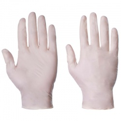 Supertouch 1050 Disposable Powdered Industrial Latex Gloves