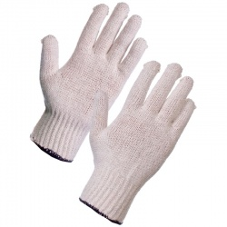 Supertouch 2650/2651 Seamless Mixed Fibre Polycotton Gloves