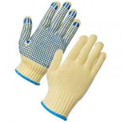 Supertouch 2727 Kevlar PVC Dot Gloves