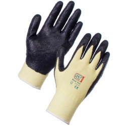 Supertouch Black Jack Kevlar Work Gloves 7124