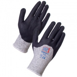 Supertouch Deflector 5 Palm Coated Cut Resistant Gloves 7556