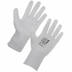 Supertouch Deflector 5X Palm Coated Cut Resistant Gloves 7560/7566