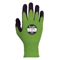 TraffiGlove TG535 Secure Nitrile Foam Plus Coating Cut Level C Safety Gloves