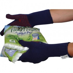 Cold Insulating PB7D Acrylic PVC Dotted Gloves