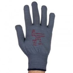 Tornado TEG20 Electrogrip PVC Dot Grip Gloves