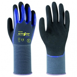 Towa ActivGrip Nitrile Coated Oil Resistant CJ-568 Gloves