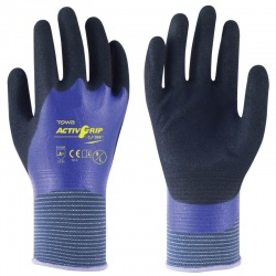 Towa ActivGrip Nitrile Coated Oil Resistant CJ-569 Gloves