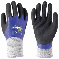 Towa ActivGrip Omega Max Oil Resistant 542 Gloves