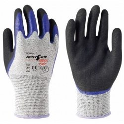 Towa ActivGrip Omega Plus Nitrile Coated 541 Gloves