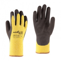 Towa PowerGrab Thermo Thermal-Lined Yellow 334 Gloves