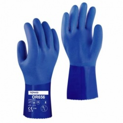 Towa PVC Coated 30cm Chemical Resistant OR656 Gloves