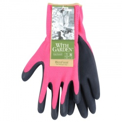 WithGarden Soft and Care Flora 315 Rose Pink Gardening Gloves