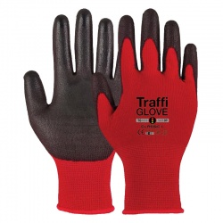 TraffiGlove TG1010 Cut Level 1 Classic Safety Gloves (Pack of 10 Pairs)
