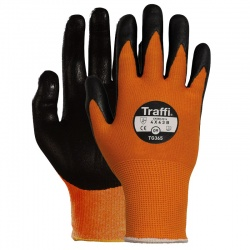 TraffiGlove TG365 Force Nitrile Foam Plus Coating Cut Level 3 Handling Gloves