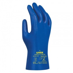 Uvex Rubiflex S NB27B 27cm Chemical-Resistant Gloves