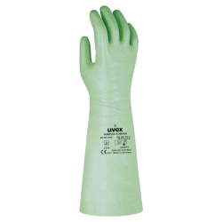 Uvex Rubiflex S NB40S 40cm Reinforced Chemical-Resistant Gloves