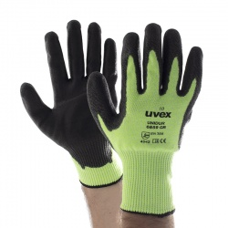 Uvex Unidur 6659 GR Green PU-Coated Cut-Resistant Gloves
